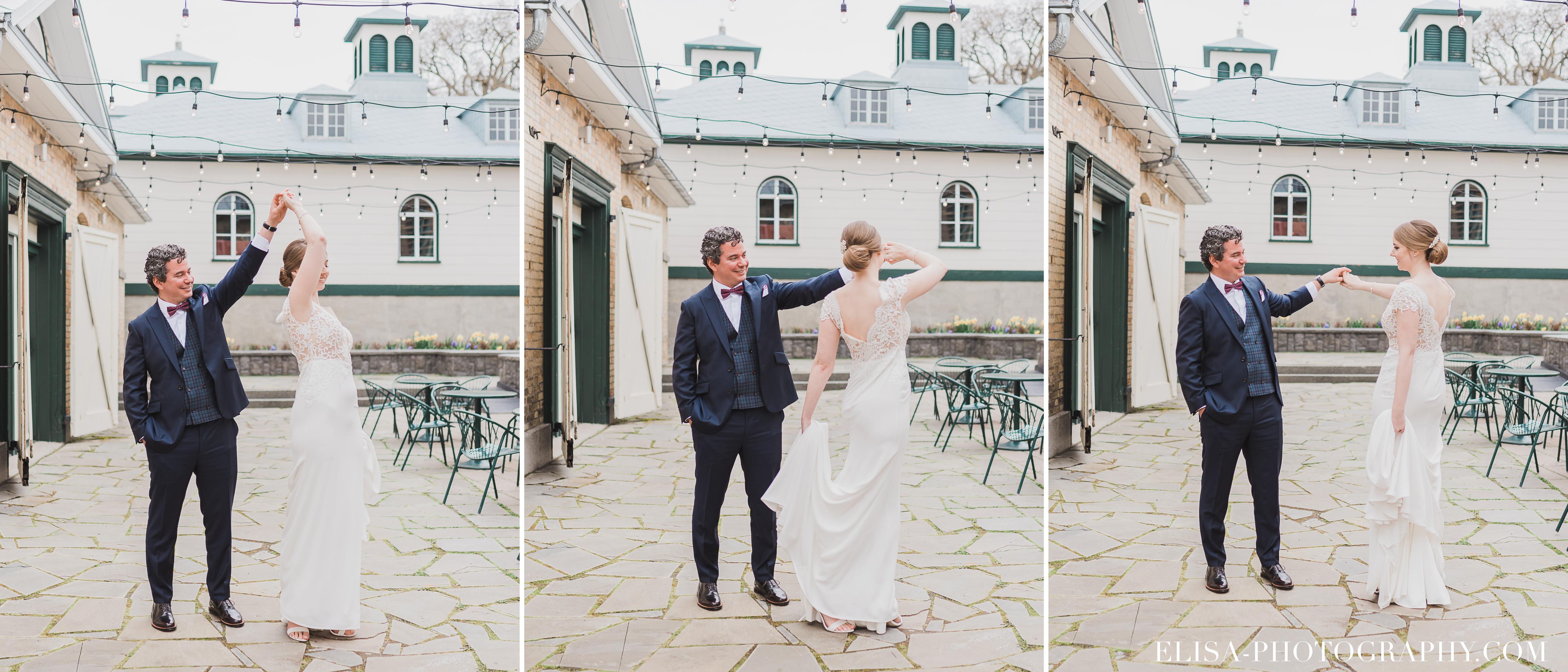 photo mariage first look quebec domaine cataraqui elisa photographe danse naturelle romantique - Mariage élégant et discret au coeur du magnifique Domaine Cataraqui, Québec