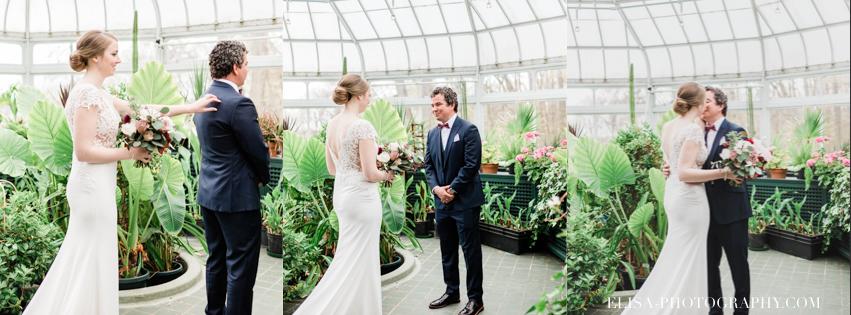 photo mariage first look quebec domaine cataraqui elisa photographe - Mariage élégant et discret au coeur du magnifique Domaine Cataraqui, Québec