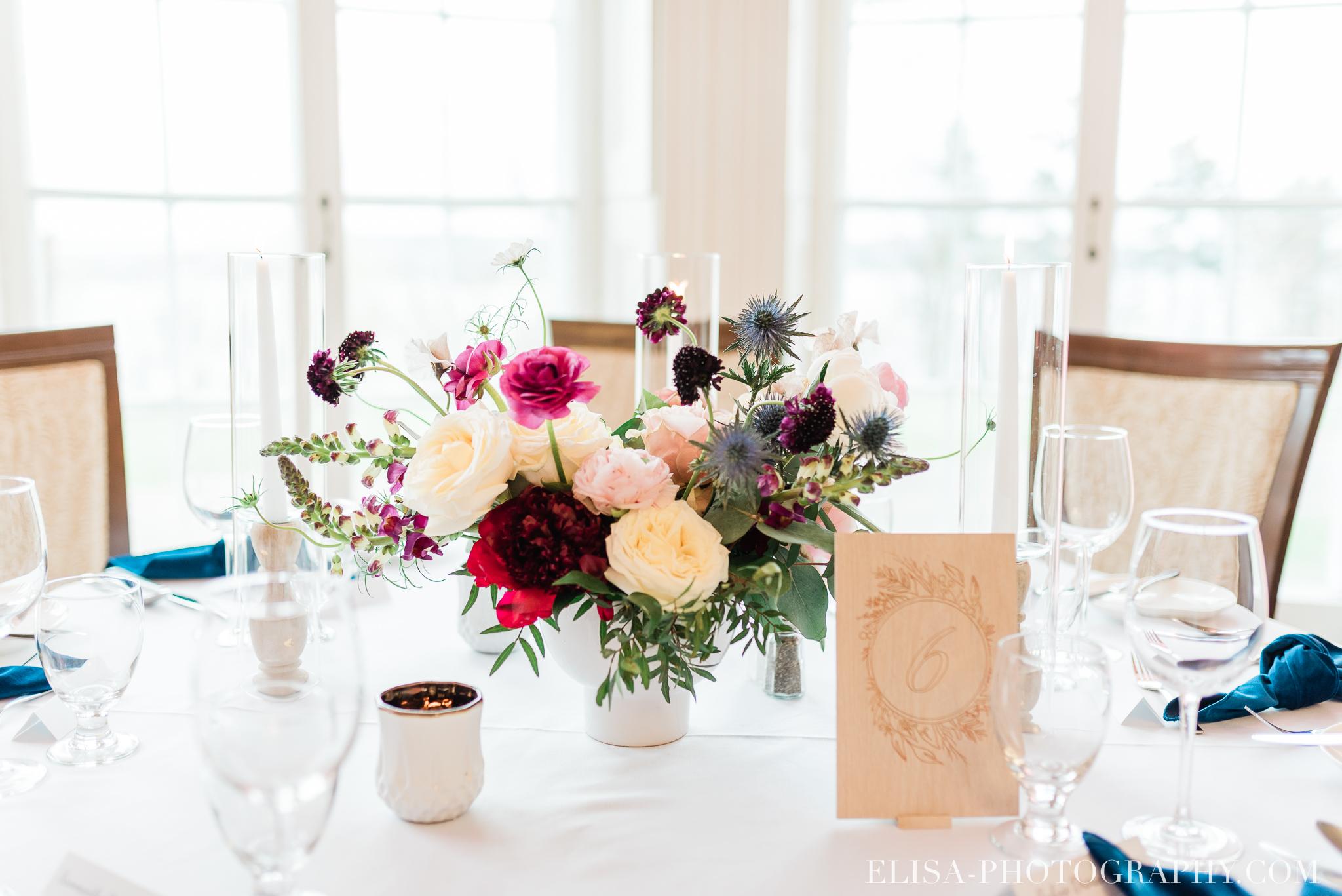 photo mariage reception domaine cataraqui elisa photographe centre de table 0886 - Mariage élégant et discret au coeur du magnifique Domaine Cataraqui, Québec