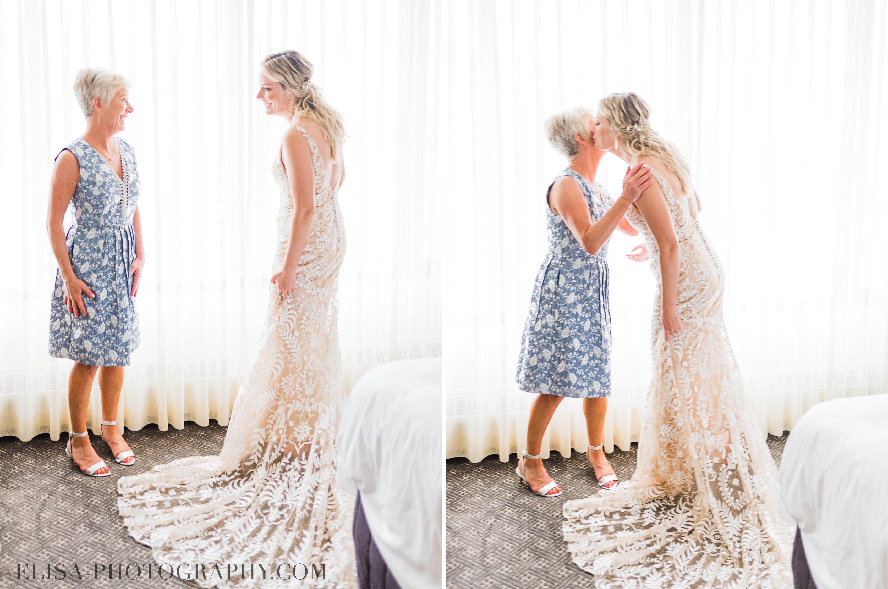 PHOTO mariage hotel omni montreal mere mariee mother bride elisa photographe - An elegant wedding under the marquee at the Forest and Stream Club in Montreal